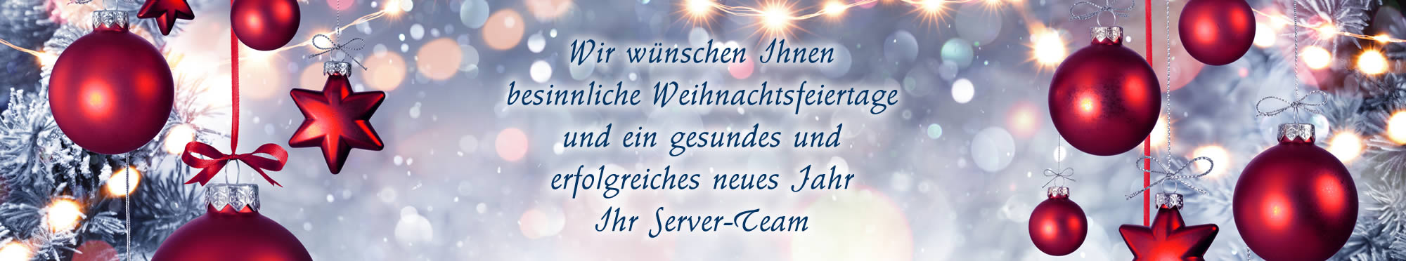 Server-Team Weihnachten